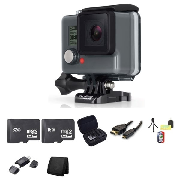 GoPro HERO+ LCD 32GB + 16GB Bundle