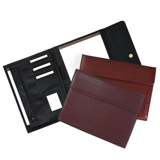 Royce Leather Compact Writing Padfolio Document Organizer