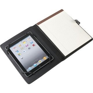 Royce Leather iPad Holder and Writing Portfolio Organizer