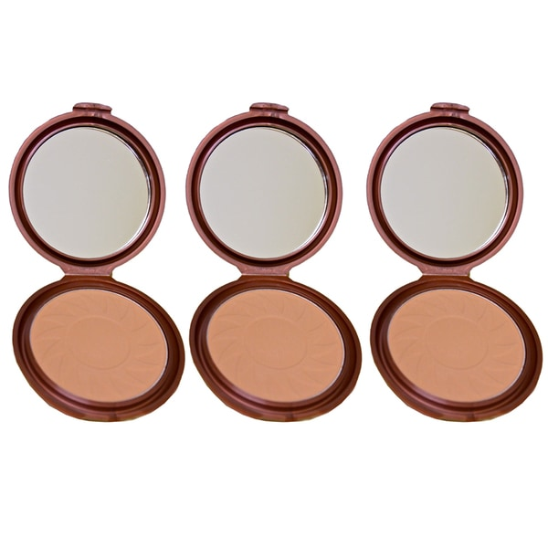 NYC Smooth Bronzing Sunny 720A Skin Face Powder (Pack of 3)