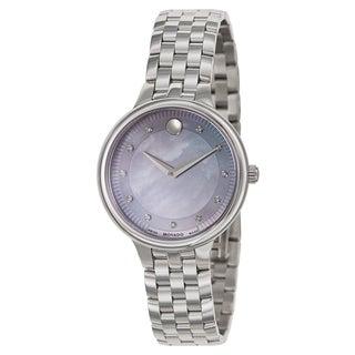 Movado Women's 'Trevi' Stainless Steel Swiss Quartz Watch