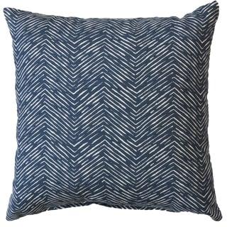 Premiere Home Cameron Premier Navy 17x17 Throw Pillow