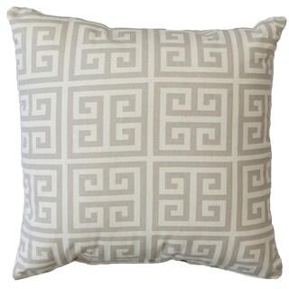 Premiere Home Greek Key 17x17 Throw Pillow