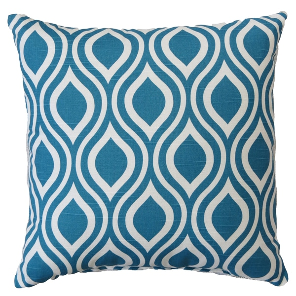 Premiere Home Nicole Aquarius 17x17 Throw Pillow