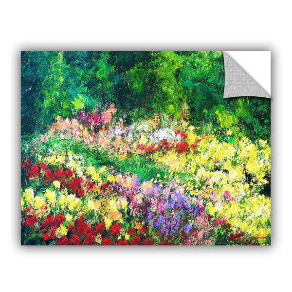 ArtAppealz Allan Friedlander 'Forest Garden' Removable Wall Art