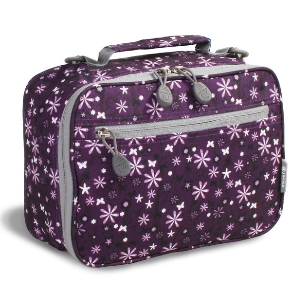 J World Garden Purple Cody Lunch Bag