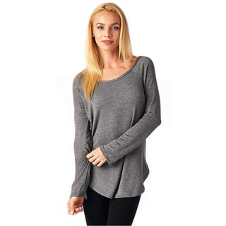 Popana Super Soft French Terry Tunic Top