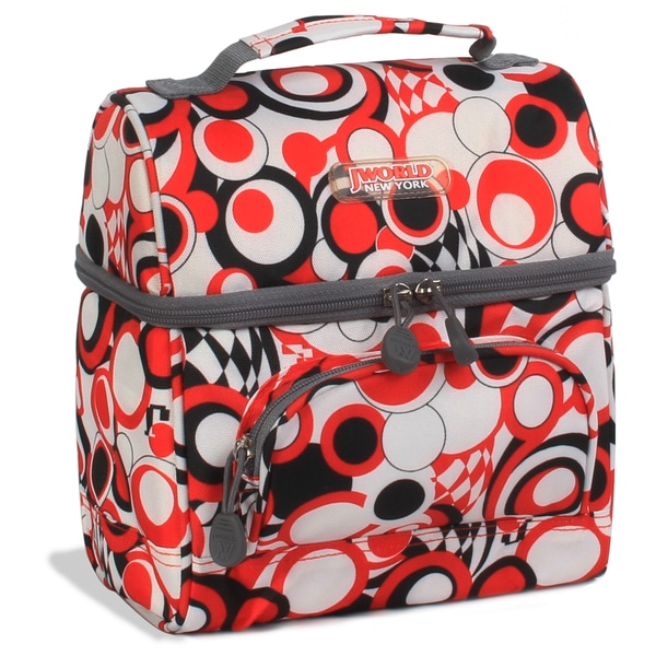 J World Chess Red Corey Lunch Bag