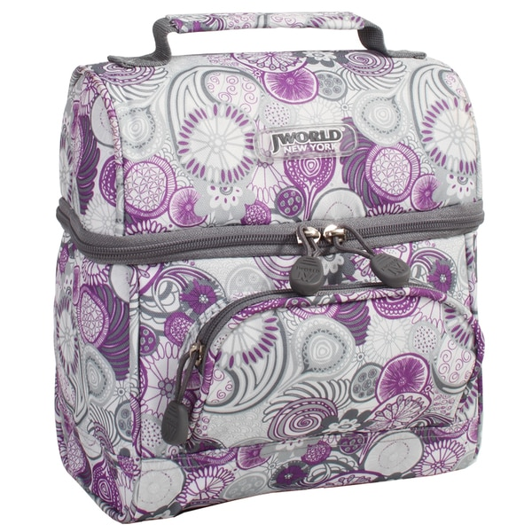 J World Purple Lemon Corey Lunch Bag