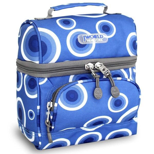 J World Target Blue Corey Lunch Bag
