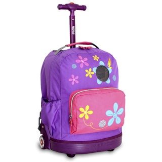J World Aroma Kids 16-inch Rolling Backpack