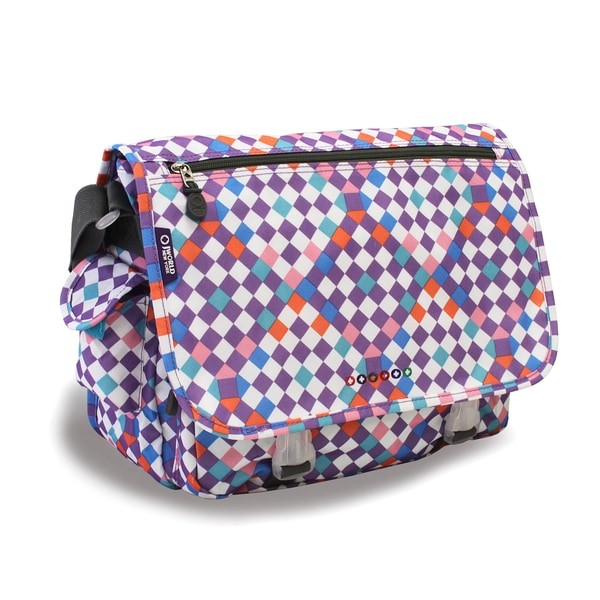 J World Checkmate Terry Messenger Bag