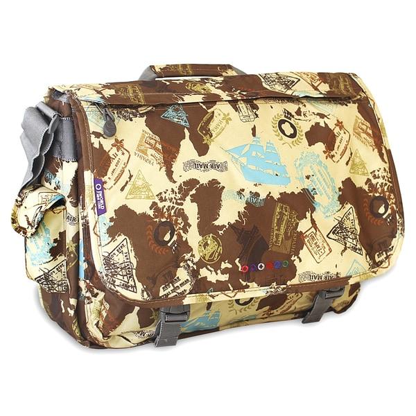J World Atlas Thomas 15.4-inch Laptop Messenger Bag