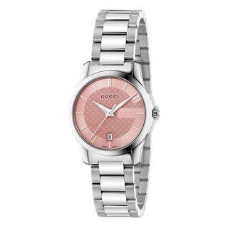 Gucci Women's YA126524 'G-Timeless' Stainless Steel Watch