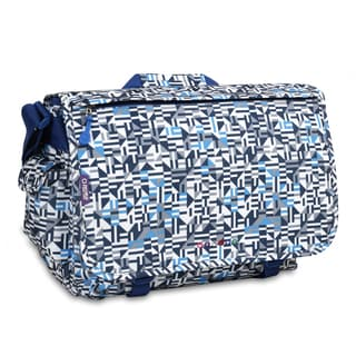J World Geo Blue Thomas 15.4-inch Laptop Messenger Bag
