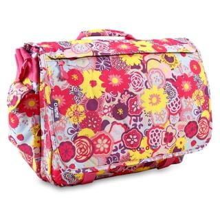 J World Poppy Pansy Thomas 15.4-inch Laptop Messenger Bag