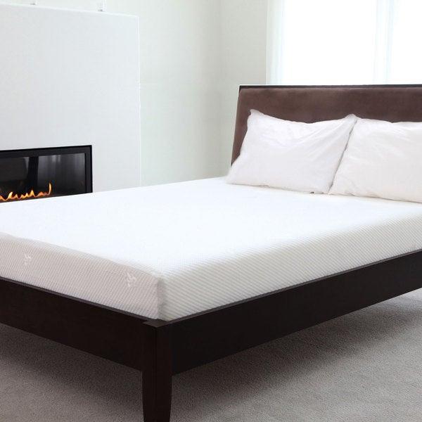 Windsor Home 10-inch King-size Gel Top Memory Foam Mattress w