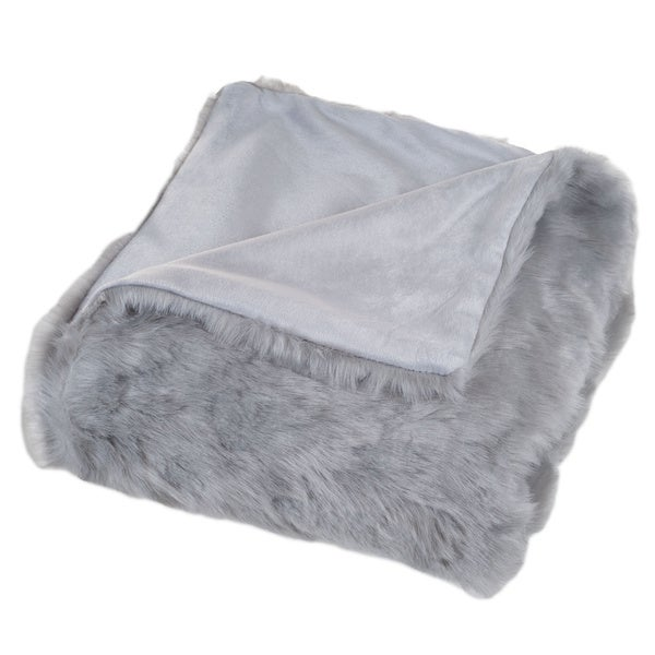 Windsor Home Luxury Long Haired Faux Fur Throw