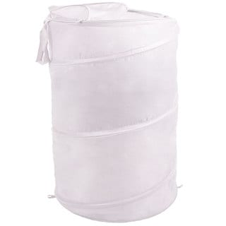 Pop Up Laundry Hamper Bag with Carrying Straps by Windsor Home - 18 x 18 x 27.5