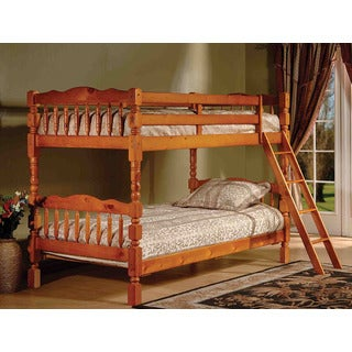 K & B B124H Twin/Twin Bunk Bed