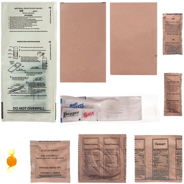 Emergency Essentials MRE Emergency Back-up Meals (Case of 12)