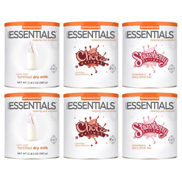 Emergency Essentials Dairy Beverage Combo