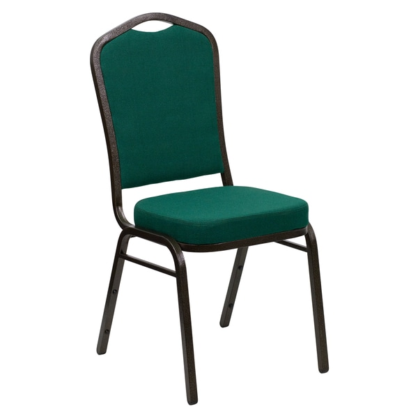 Heliconia Green Upholstered Stack Dining Chairs