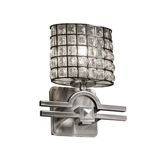 Justice Design Group Wire Glass 1-light Argyle Wall Sconce