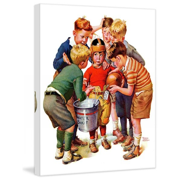 "Marmont Hill - ""You Can Be the Water Boy!"" by Frances Hunter Tipton Painting Print on Canvas"