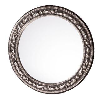 20-inch Round Mediterranean Mirror , Handmade in Morocco