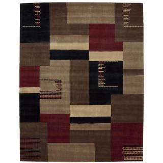 Nourison Dimensions Taupe Rug (8' x 11')