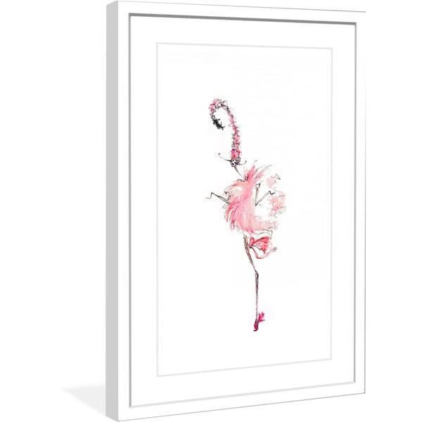 """Marmont Hill - """"Strange Bird"""" by Jaime Lee Reardin Fashion Illustrator framed art print"""