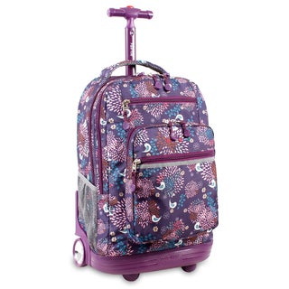 J World Baby Birdy Sundance Rolling 15.4-inch Laptop Backpack