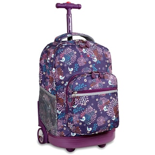 J World Baby Birdy Sunrise 18-inch Rolling Backpack