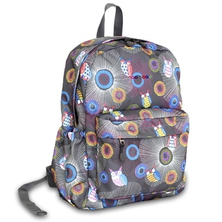 J World Blazing Owl OZ Expandable 17-inch Backpack