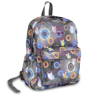 J World Blazing Owl OZ Expandable 17-inch Backpack