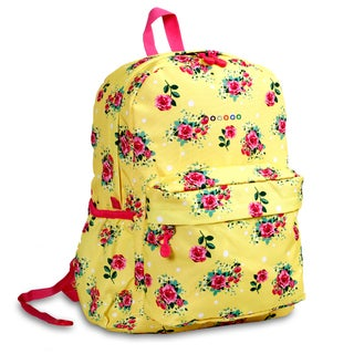 J World English Rose OZ Expandable 17-inch Backpack
