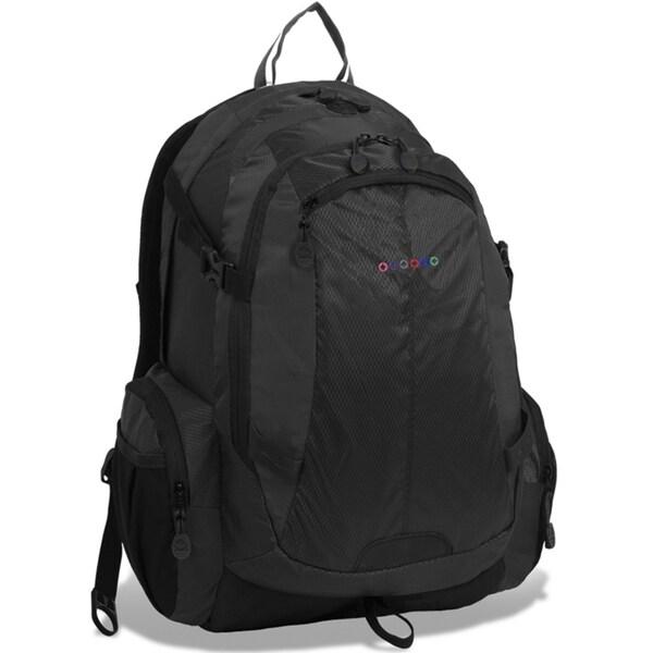 J World Quivera 2 Black 15.4-inch Laptop Backpack