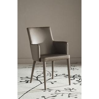 Safavieh Metropolitan Dining Summerset Taupe Arm Chair