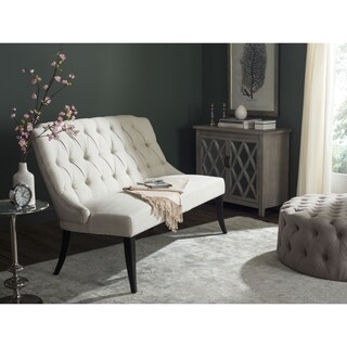 Safavieh Valerie Light Taupe Settee