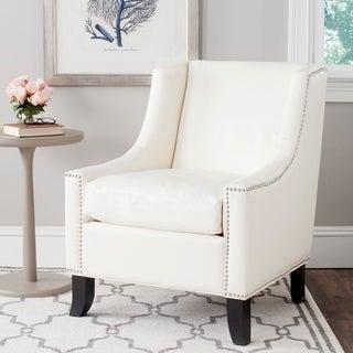 Safavieh Daniel Antique White Club Chair