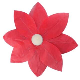 Floating Lotus Lanterns Red (6 Count)