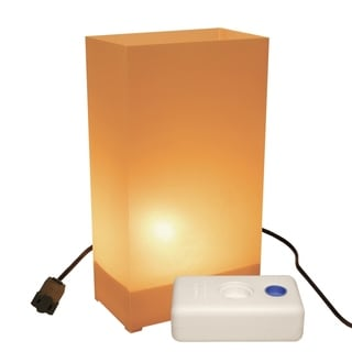 Electric Luminaria Kit with LumaBases Tan (10 Count)