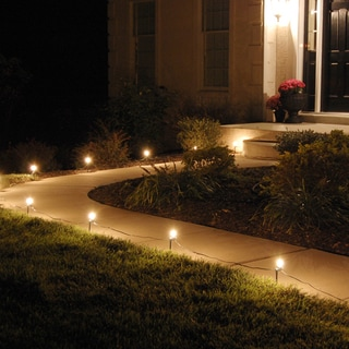 Electric Pathway Lights Clear (10 Count)