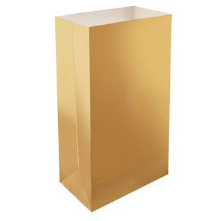 Luminaria Bags Metallic Gold (24 Count)