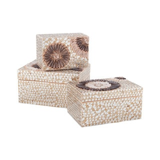 Dimond Home Medium Capiz Shell Urchin Box