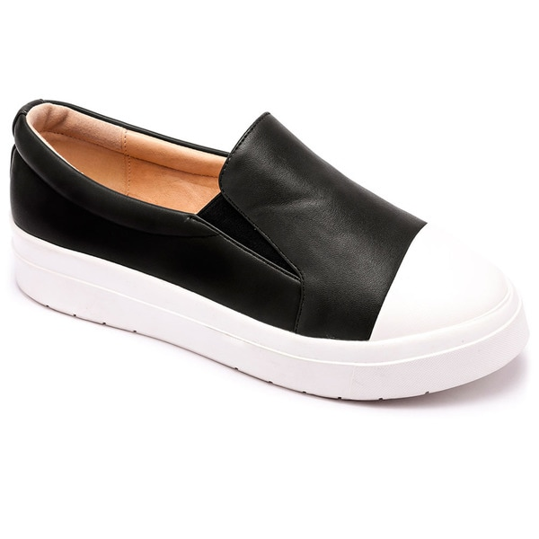 Machi Muchi Women's Slip On Fashion Platform Sneakers