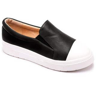 Machi Muchi Women's Slip On Fashion Platform Sneakers