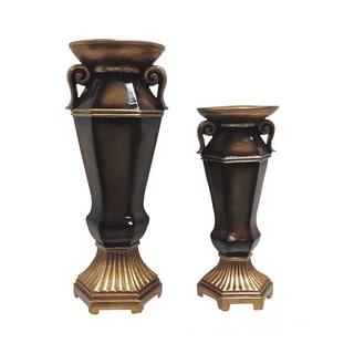 D'Lusso Designs Ellie Collection Vase Duet Set
