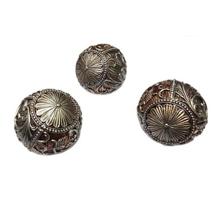 D'Lusso Designs Sofia Collection 3-piece Orbs Set